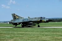 Photo: Swedish Air Force, Saab J35 Draken, 35554