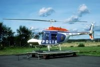 Photo: Swedish Police, Bell 206 Jet Ranger, SE-HIM