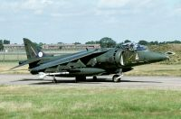 Photo: Royal Air Force, Hawker Siddeley Harrier, ZG501