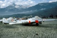 Photo: Swiss Air Force, De Havilland DH-100 Vampire, J-1170