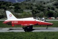 Photo: Swiss Air Force, British Aerospace Hawk, U1252