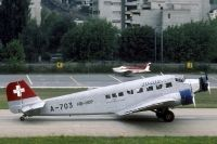 Photo: Ju-Air, Junkers Ju52, HB-HOP