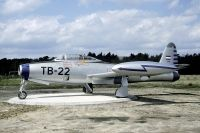 Photo: Royal Dutch Air Force, Republic F-84G Thunderjet, K-167/TB-22