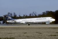Photo: Montenegro Airlines, Fokker F100, YU-AOK