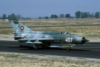 Photo: Bulgarian Air Force, MiG MiG-21, 407