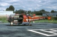 Photo: Securite Civile, Aerospatiale Alouette III, F-ZBDQ