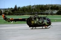 Photo: Swedish Air Force, Messerschmitt-Bölkow-Blohm (MBB) Bo-105, 09201