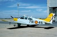 Photo: Spanish Air Force, Beech Bonanza, E24A-20/791-45
