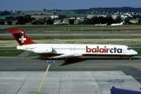 Photo: BalairCTA, McDonnell Douglas MD-80, HB-IUA