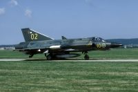 Photo: Swedish Air Force, Saab J35 Draken, 35602