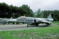 Photo: Royal Netherlands Air Force, Lockheed F-104 Starfighter, D-8258