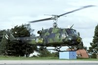 Photo: Swedish Air Force, Bell 204, 03302