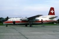 Photo: Balair, Fokker F27 Friendship, HB-AAU
