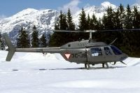 Photo: Austrian Air Force, Bell 206 Jet Ranger, 3C-JB