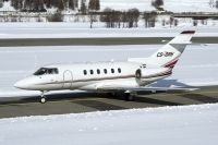 Photo: NetJets, Beech Hawker 800, CS-DRH