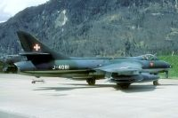 Photo: Swiss Air Force, Hawker Hunter, J-4081