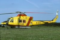 Photo: Royal Netherlands Air Force, Agusta AB-412, R-03