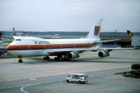 Photo: United Airlines, Boeing 747-100, N154UA