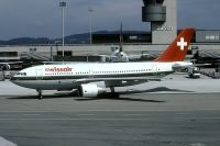 Photo: Swissair, Airbus A310, HB-IPA