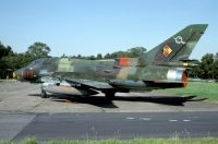 Photo: East German Air Force, Sukhoi Su-22 Fitter, 613