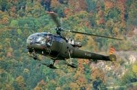 Photo: Swiss Air Force, Aerospatiale Alouette III, V-245