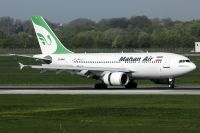 Photo: Mahan Air, Airbus A310, EP-MNO