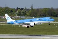 Photo: KLM Cityhopper, Embraer EMB-190, PH-EZH