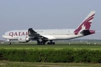 Photo: Qatar Airways Cargo, Boeing 777-FDZ, A7-BFA