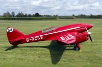 Photo: Shuttleworth Trust, De Havilland DH-88 Comet Replica, G-ACSS
