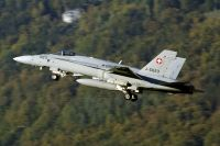 Photo: Swiss Air Force, McDonnell Douglas F-18 Hornet, J-5023