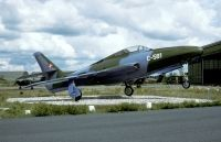 Photo: Denmark - Air Force, Republic RF-84F Thunderflash, C-581