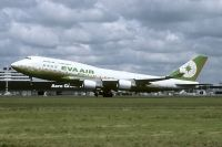 Photo: EVA Air, Boeing 747-400, B-16461