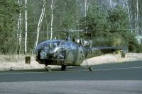 Photo: Royal Netherlands Air Force, Aerospatiale Alouette III, A-209