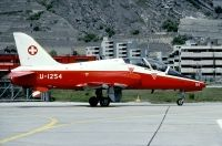 Photo: Swiss Air Force, British Aerospace Hawk, U-1254