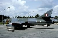 Photo: Swiss Air Force, Hawker Hunter, J-4031