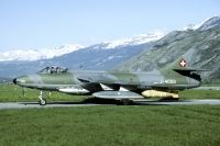 Photo: Swiss Air Force, Hawker Hunter, J-4050