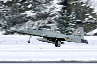 Photo: Swiss Air Force, Northrop F-5 Freendom Fighter/Tiger II, J-3077