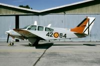 Photo: Spanish Air Force, Beech Baron, E.20-7
