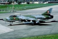 Photo: Swiss Air Force, Hawker Hunter, J-4107