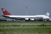 Photo: Northwest Airlines, Boeing 747-100, N607US