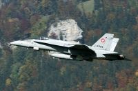 Photo: Swiss Air Force, McDonnell Douglas F-18 Hornet, J-5005