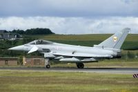 Photo: Royal Air Force, Eurofighter Typhoon, ZK348