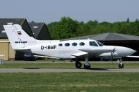 Photo: Geocart Herten GmbH, Cessna 402, D-IBWF