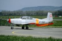 Photo: Swiss Air Force, Pilatus P-3, A-867