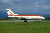 Photo: Itavia, Fokker F28, D-ABAN