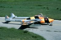 Photo: Swiss Air Force, De Havilland DH-100 Vampire, J-1111