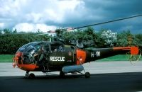 Photo: Royal Netherlands Air Force, Aerospatiale Alouette III, H-81