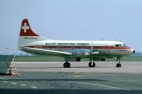 Photo: SATA - SA de Transports Aerien, Convair CV-640, HB-IMM