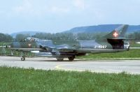 Photo: Swiss Air Force, Hawker Hunter, J-4087