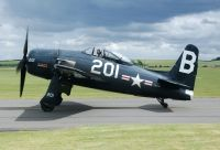 Photo: United States Navy, Grumman F8F-2 Bearcat, G-RUMM